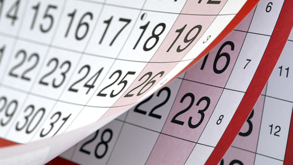 Consult a calendar when buying a business.