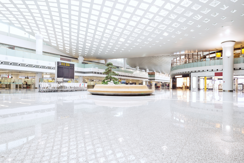 A mall with opportunities for opening a business.