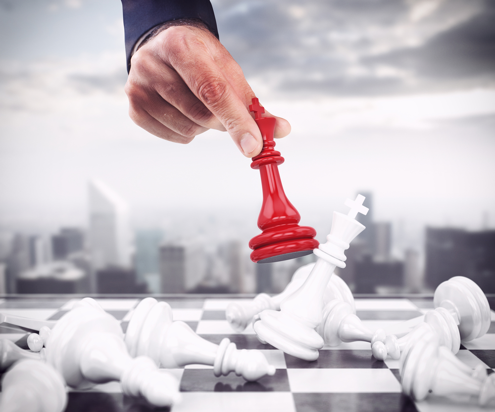 Buying a competitor's entity is like a game of chess.