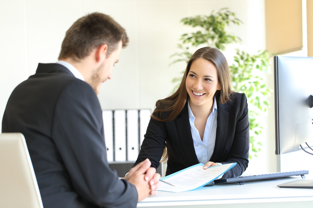 Business Buyer Negotiating The Right Deal Terms When Buying A Business.